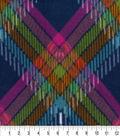 Anti-Pill Fleece Fabric 59\u0022-Madeline Plaid