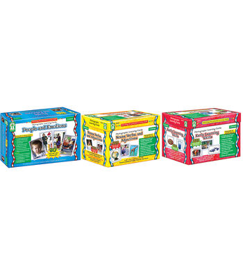 Carson Dellosa Photographic Learning Cards Classroom Set