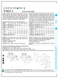 Mccall Pattern V8911 16-18-20-2-Vogue Pattern