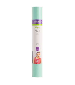 Cricut StrongBond 11.8''x24'' SportFlex Iron-on Sheet-Seafoam