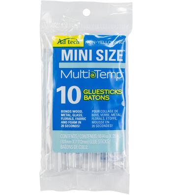 "Adhesive Technologies Multi Temp Mini Glue Sticks-4""X.28"" 10Pk"