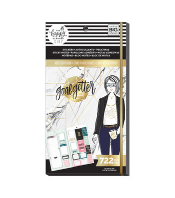 The Happy Planner Girls Accessory Book-Goal Getter