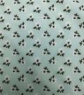 Stretch Chiffon Fabric 57\u0027\u0027-Ditsy Blooms on Green