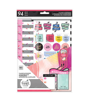 The Happy Planner Girl Classic Accessory Pack-Super Mom