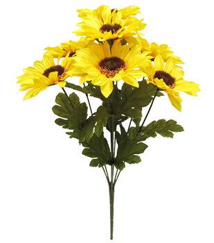 Blooming Autumn 17'' Sunflower Bush-Yellow