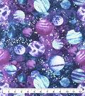 Snuggle Flannel Fabric-Purple Galaxy