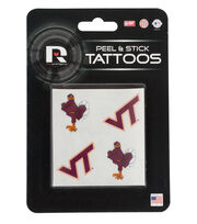 Virginia Tech Hokies Peel & Stick Tattoos, , hi-res