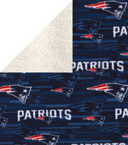 New England Patriots Fleece Fabric-Sherpa, , hi-res