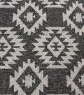 Sportswear Jacquard Fabric-Aztec on Charcoal