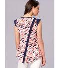 Kwik Sew Pattern K4175 Misses\u0027 Sleeveless/Sleeve Back Tops-Size XS-XL