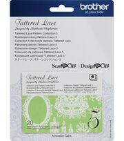 Brother ScanNCut SDX125 Tattered Lace Pattern-Collection 5, , hi-res