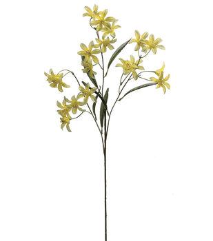 """Bloom Room 24"""" Tweedia Spray x3-Yellow"""