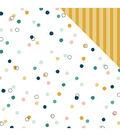 My Mind\u0027s Eye Wander 25 pk 12\u0027\u0027x12\u0027\u0027 Double-Sided Cardstock-Dots