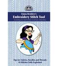 DMC Books-Emma Broidery\u0027s Embroidery Stitch Tool