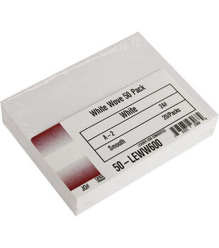 "Leader A2 Envelopes (4.375""X5.75"") 50/Pkg-White"