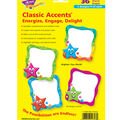 Star Frames Classic Accents Variety Pack, 36 Per Pack, 6 Packs
