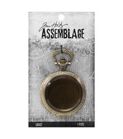 Tim Holtz Assemblage Pocket Watch Locket, , hi-res