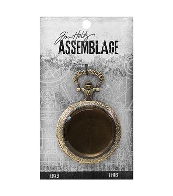 Tim Holtz Assemblage Pocket Watch Locket