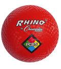 Champion Sports Playground Ball, 8.5\u0022, Red, Pack of 3