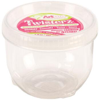 """ArtBin Twisterz Jar Anti-Tarnish-Large&Tall 3.5""""X2.87"""" (9fl oz)"""