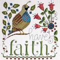 Design Works 10\u0027\u0027x10\u0027\u0027 Counted Cross Stitch Kit-Heartfelt Have Faith