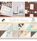 DCWV 36 Pack 12\u0027\u0027x12\u0027\u0027 Premium Stack Printed Cardstock-Wild & Fancy