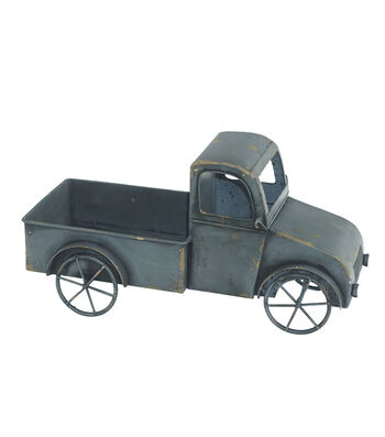 Bloom Room Metal Truck Container-Gray