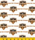 Houston Dynamo Cotton Fabric 58\u0022-Logo