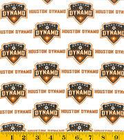 Houston Dynamo Cotton Fabric -Logo, , hi-res