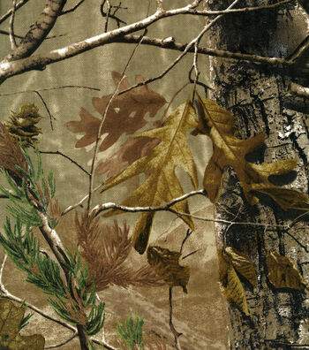 "Camouflage Twill Fabric 60""-Realtree"