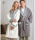 Simplicity Pattern 8267 Unisex Sleepwear-Size A (XS-S-M-L-XL)