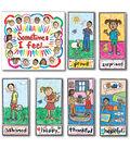 Kid-Drawn Emotions Bulletin Board Set Grade K-3, 2 Sets