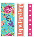 Buttercream Olivia Collection Fabric Tape-Bird Floral