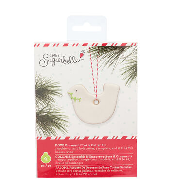 Sweet Sugarbelle Christmas Ornament Cookie Cutter Kit-Dove