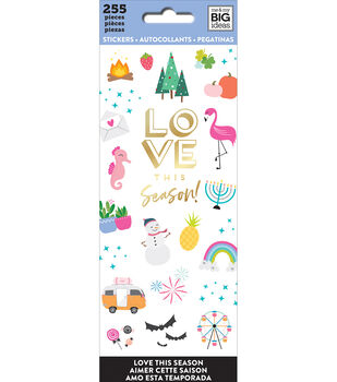 The Happy Planner Stickers-Love This Season