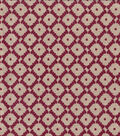 Keepsake Calico Cotton Fabric 44\u0022-Abacus Garnet