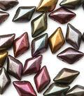 Beadsmith GemDuo`s Czech Glass Beads-Violet
