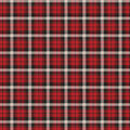 Super Snuggle Flannel Fabric-Carter Plaid Red