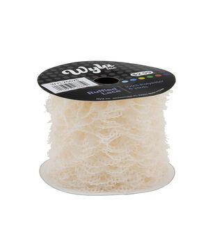 Wyla Ruffled Lace-Ivory 5002
