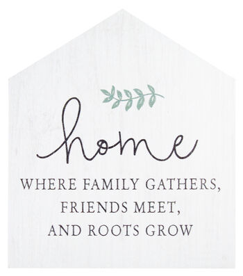 Simply Spring Tabletop Decor-Home is Where Family Gathers