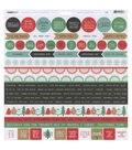 Kaisercraft Holly Jolly Cardstock Stickers