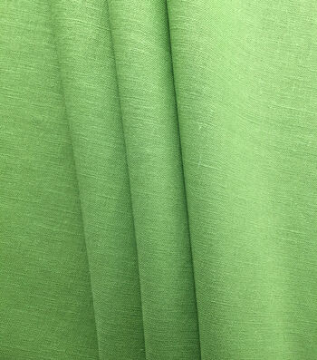 "Apparel Linen Look Solid Fabric 52""-Green"