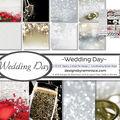 Reminisce Collection Kit 12\u0022X12\u0022-Wedding Day