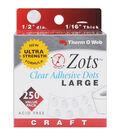 Thermoweb 1/2\u0022x1/16\u0022 Zots Adhesive Dots-250PK/Permanent