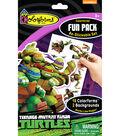 Fun Pack Re-Stickable Sticker Set-Teenage Mutant Ninja Turtles