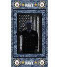 24\u0022 Military Cotton Panel-Navy