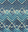 Kelly Ripa Multi-Purpose Decor Fabric 54\u0022-Zen Blend Indigo