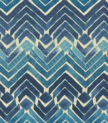 "Kelly Ripa Multi-Purpose Decor Fabric 54""-Zen Blend Indigo"
