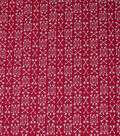 Quilter\u0027s Showcase Cotton Fabric-Red Arrow Patches