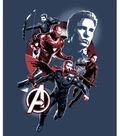 Marvel No Sew Fleece Throw-Avengers Movie 3